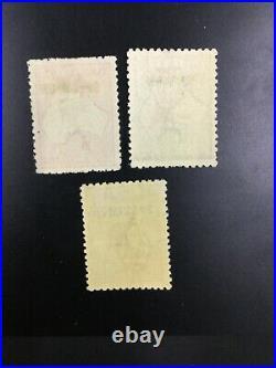 MOMEN AUSTRALIA SG #43s-45s SPECIMEN 1915-27 KANGAROO MINT OG H £850 LOT #62306