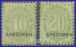 MOMEN AUSTRALIA SG #D43s-D44s 1903 MINT OG H LOT #60696