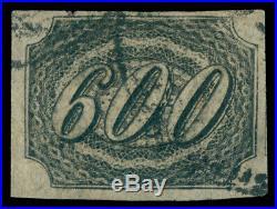 MOMEN BRAZIL #13 600r 1844-6 USED IMPERF LOT #60501