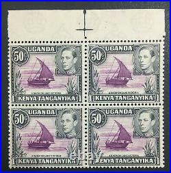 MOMEN BRITISH KUT SG #144a ROPE NOT JOINED TO SAIL BLOCK MINT OG NH LOT #61454