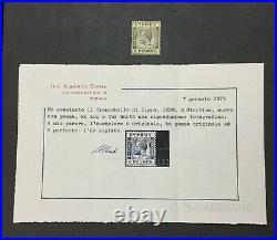 MOMEN CYPRUS SG #117a 1928 MINT OG VLH CERT LOT #204274-9964