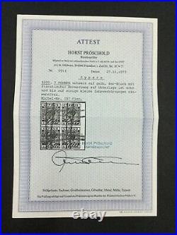 MOMEN CYPRUS SG #117a BLOCK USED CERT £1,400 LOT #62375