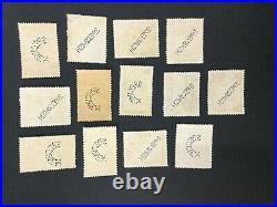 MOMEN FIJI SG #249s/266s SPECIMEN 1938 MINT OG H LOT #191839-362