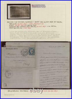 MOMEN FRANCE BALLON MONTE 1870 Franco-Prussian War LOT #62500-2