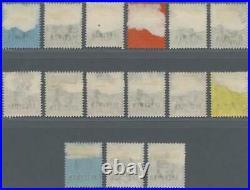 MOMEN HONG KONG SG #61s-75s SPECIMEN 1903 MINT OG H FRESH LOT #60707
