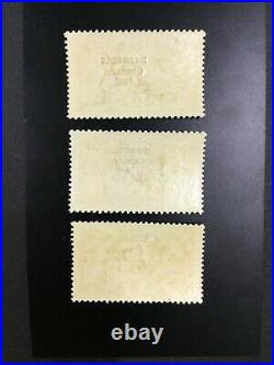 MOMEN IRELAND SC #77-79 1925 5.5mm SEAHORSE MINT OG H $390 LOT #62237