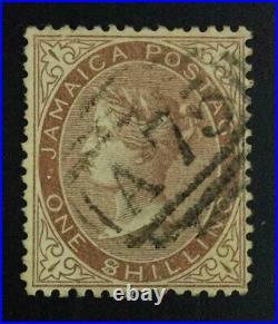 MOMEN JAMAICA SG #6c 1860-70 $ USED £600 LOT #63074