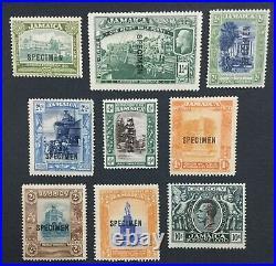 MOMEN JAMAICA SG #78s/89s SPECIMEN MINT OG H LOT #191501-559
