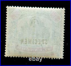 MOMEN MALAYA SELANGOR SG #65s SPECIMEN 1895-9 MINT OG NH LOT #60289