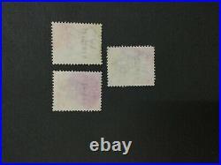 MOMEN MALAYA STRAITS SG #135s-137s SPECIMEN 1904-06 UNUSED LOT #203996-9852
