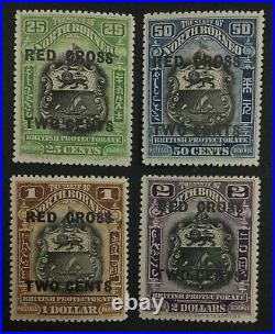 MOMEN NORTH BORNEO SG #229-232 MINT OG 2NH(50c, $1)/2H £147 LOT #62458
