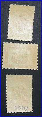 MOMEN NORTH BORNEO SG #300s-302s 1931 SPECIMEN MINT OG NH LOT #60601