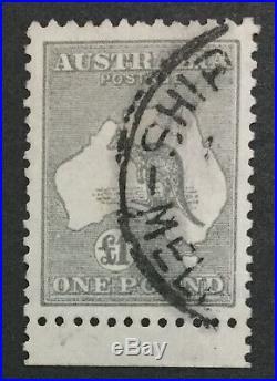 Momen Australia Sg #75 Used 1924 Kangaroo Xf Lot #208652-2986