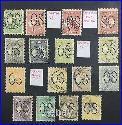 Momen Australia Sg #o1-o12 1913 Kangaroo Used £1,800 Lot #60200