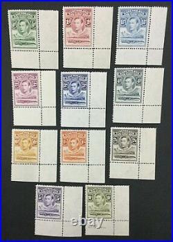 Momen Basutoland Sg #18-28 1938 Mint Og Nh Lot #192430-1234