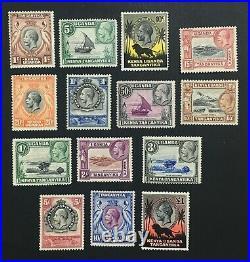 Momen British Kut Sg #110-123 1935 Mint Og H £475 Lot #61549