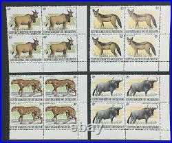 Momen Burundi Sc #589-601 1982 1983 Corner Block Wildlife Mint Og Nh Lot #60809