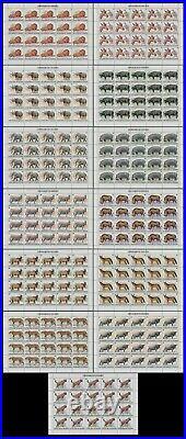 Momen Burundi Sc #589-601 1982 1983 Sheets Of 20 Wildlife Mint Og Nh Lot #60806