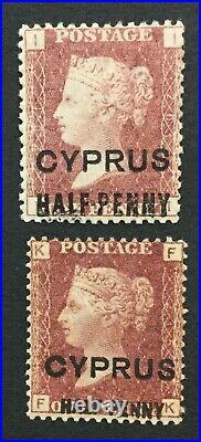 Momen Cyprus Sg #7,9 Mint Og H Lot #193171-1684