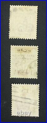 Momen East Africa Sg #1-3 1890 Used £800 Lot #61547