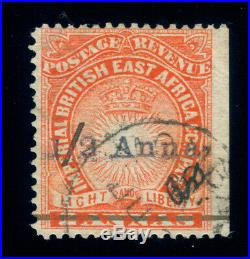 Momen East Africa Sg #20 1891 Mombasa Provisionals Used Cert Lot #60125