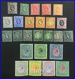 Momen East Africa Sg #44-58 1912-21 Mint Og H £550 Lot #61526