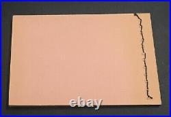 Momen Egypt Nile Post #sb13 1937 Booklet A/37 Plate Mint Og Nh Xf Lot #60302