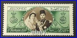 Momen Egypt Sc #224 1938 Wedding Mint Og H $200 Lot #63078