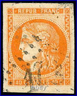 Momen FRANCE Stamps Maury #48 Scott #47 Used SUPERB LOT #61738
