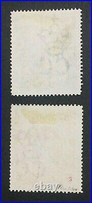 Momen Falkland Islands Sg #41-42 1898 Used Vf £525 Lot #61424
