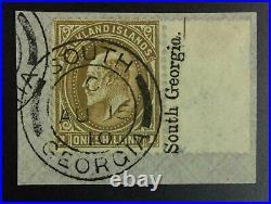 Momen Falkland Islands Sg #zu3 South Georgia Used Rare Lot #62981