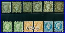 Momen France Stamps #22-23 #25-26 #30-31 Mint Group