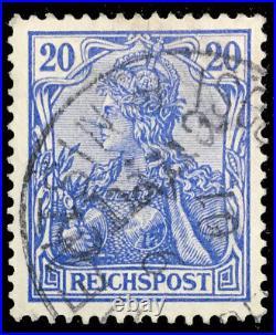 Momen German Colonies China Sc #20 1900 Used Cert Lot #60568