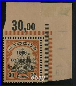 Momen German Colonies Togo Sc #160 1914 Mint Og Nh Lot #62313