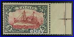 Momen German Colonies Togo Sc #19 1900 Mint Og Vlh Lot #62310