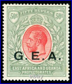 Momen German East Africa Sg #62 1917-21 Mint Og Lh Xf
