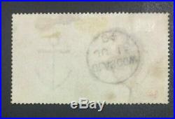 Momen Great Britain Sg #137 £5 Orange Used Lot #60170