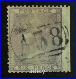 Momen Great Britain Sg #z115 Jamaica Montpelier A58 Used Cert £1,300 Lot #63070