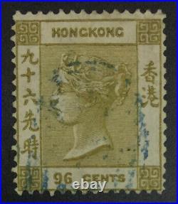 Momen Hong Kong Sg #18 1865 Crown CC Used £750 Lot #62093