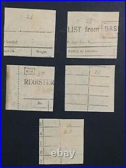 Momen India Cef Sg #c23/c28 1914-22 Used £300 Lot #61480