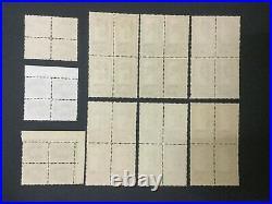 Momen India Chamba Sg #82/92 Blocks Mint Og Nh Lot #193643-2367