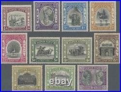 Momen India Jaipur Sg #40-46,48-51 1931 Mint Og H £675 Lot #62259