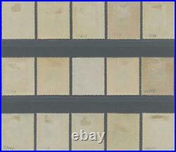 Momen India Jaipur Sg #52-54,56-67 1932-46 Mint Og H £500 Lot #62260