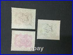 Momen India Sg #107-109 1895 Mint Og H Lot #193643-2439
