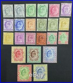 Momen India Sg #119-146 1902-11 Mint Og H £1,500 Lot #60221