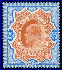 Momen India Sg #147 1902-11 Mint Og H Vf
