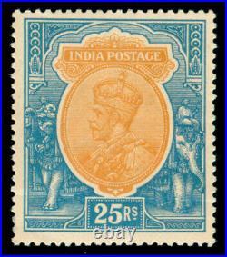 Momen India Sg #219 1928 Mint Og Vlh Lot #60223