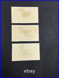 Momen Ireland Sg#86-88 1925-8 Seahorse Mint Og Lh £275 Lot #62521