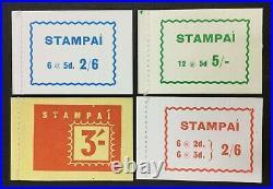 Momen Ireland Sg #sb14-sb17 Booklet Pane Mint Og Nh £125 Lot #62538