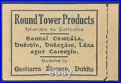 Momen Ireland Sg #sb6 1946 Booklet Pane Mint Og Nh £1,400 Lot #62537
